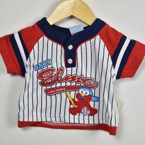 Elmo baseball jersey 6-9M
